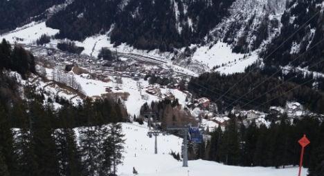 High altitude ski resorts get less snowfall