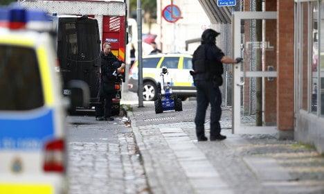 Police hold student over Gothenburg school blast