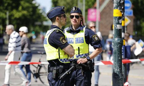 Swedish police to get new terror training