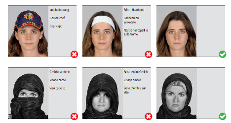 Swiss politician argues against hijab in ID photos