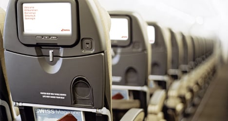 Brawl over seats forces Swiss to abort flight