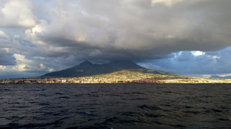 Rare photo of Vesuvius goes on sale for €8 million
