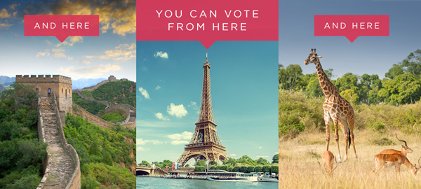 How to vote absentee from abroad in the US elections