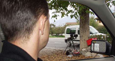 Valais man caught driving 100km/hr over speed limit