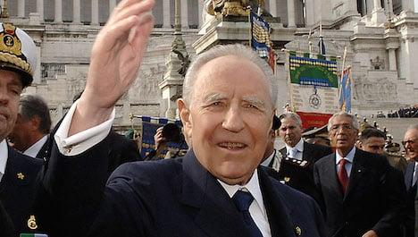 Former Italian president Ciampi dies at 95