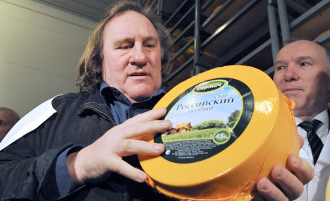 'Imbeciles and stinky cheese': Depardieu blasts France again