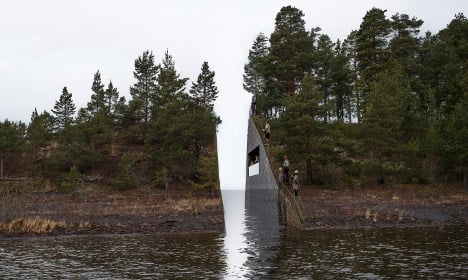Norway offers to scrap Swede's Utøya memorial