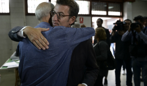 Spain's regional elections boost acting PM's party