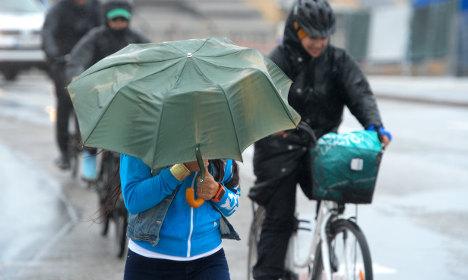 Rail delays after heavy winds batter Sweden