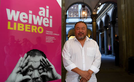 Ai WeiWei's new Italy exhibition tackles migrant crisis