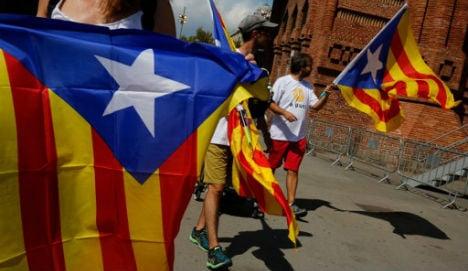 Catalans rally on La Diada to push for break from Spain
