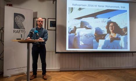 Iraqi activist Yanar Mohammed wins Norway prize