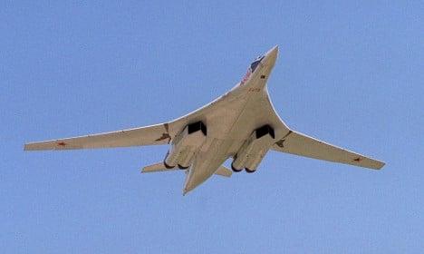 Russian bombers spook Sweden-bound flight