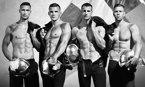 French firefighters calendar to provoke global palpitations