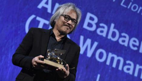 Philippine film scoops Golden Lion at Venice Film Festival