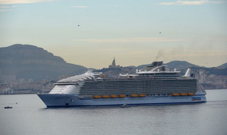 France: One killed in accident on world's biggest cruise liner