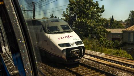 Spanish driver clocks off mid-route stranding full train