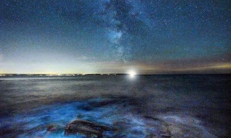 Spectacular photos show stunning Sweden at night
