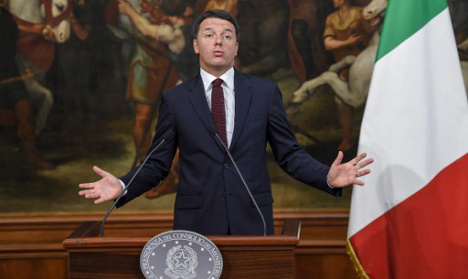 Italy slashes growth figures ahead of crucial referendum