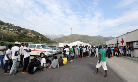 Italy's migrant centres are running out of money