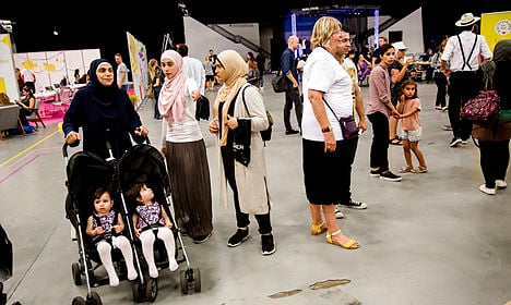 Denmark's asylum numbers at five-year low
