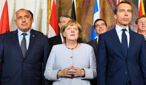 Europe needs deals to send migrants home: Merkel