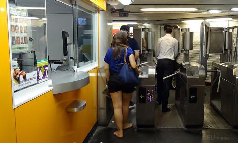 Paris declares new war on legion of train fare dodgers