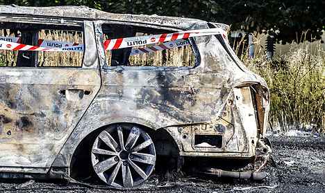 Car fires flare up again in Copenhagen area