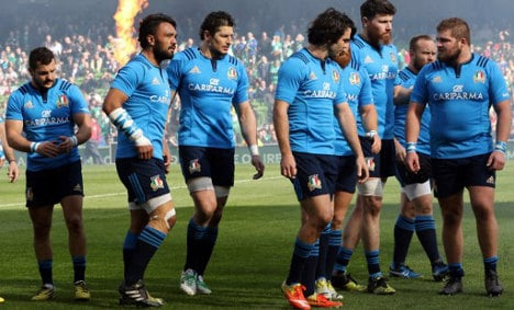Italy scraps bid to host 2023 Rugby World Cup
