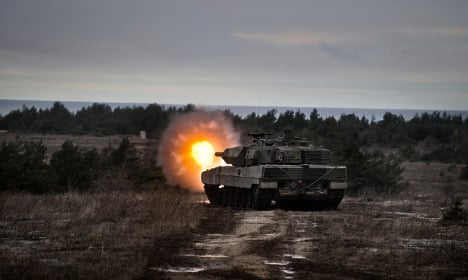 Sweden stations permanent troops on Baltic Sea island