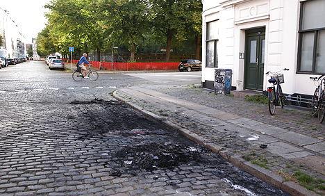 New fires leave cars 'destroyed' in Copenhagen