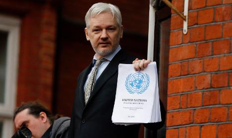 Swedish court upholds Assange arrest warrant