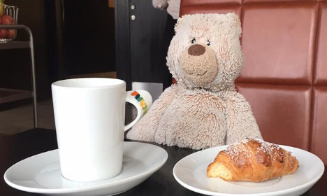 How a Swedish hotel reunited this bear with his best friend