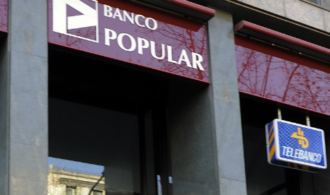 Spain's Banco Popular to axe 3,000 jobs in cost cutting plan
