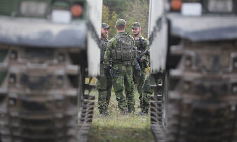 Did Russian 'threat' lead to Swedish troops on Gotland?