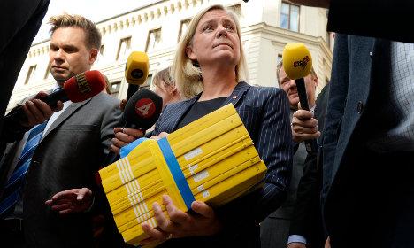 Swedish budget: Integration, climate change and equality