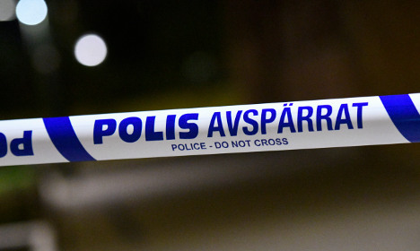 Police investigate after car blown up in Malmö