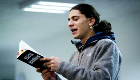Who is jailed Danish poet Yahya Hassan?
