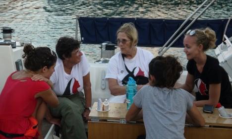 Women-led flotilla sails from Barcelona to Gaza Strip