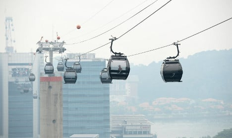 Paris region eyes up cable cars to unclog traffic jams