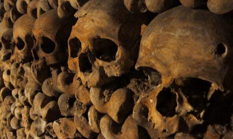 Reveller dies during secret party in Paris catacombs