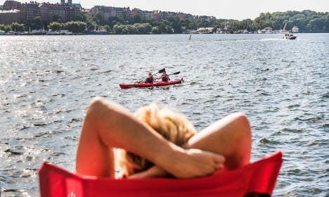 Spanish September heatwave on its way to Sweden