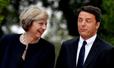 Renzi: UK won't get special treatment post-Brexit
