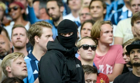Sweden to ban masks but not burqas at football matches