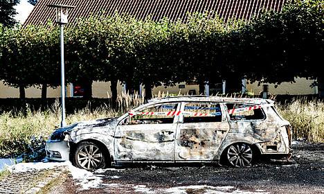 Cars set on fire yet again in Copenhagen suburbs