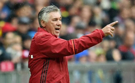 Bayern Munich coach Ancelotti: club is 'like family'