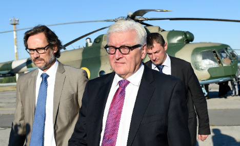Steinmeier makes first visit to war-torn east Ukraine
