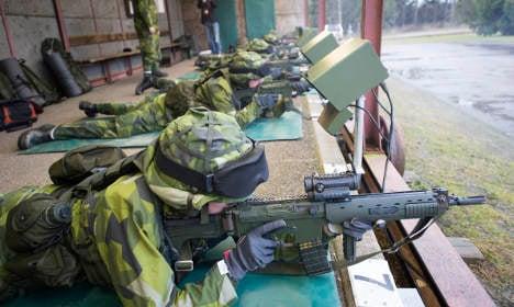 Sweden advised to bring conscription back in 2018