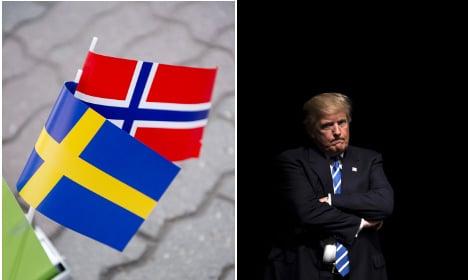 Sweden bad, Norway good, Trump better? I'm confused