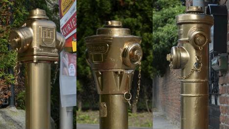 Austrian police seek mysterious 'Goldfinger' sprayer